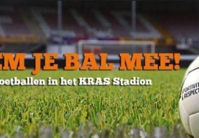"""Geweldig initiatief van FC Volendam """"Neem je eigen bal mee naar het Stadion"""""""