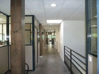 Architecte bureaux circulation intérieure