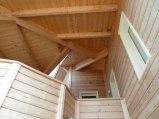 Maison en bois massif Meschers-sur-Gironde entrée