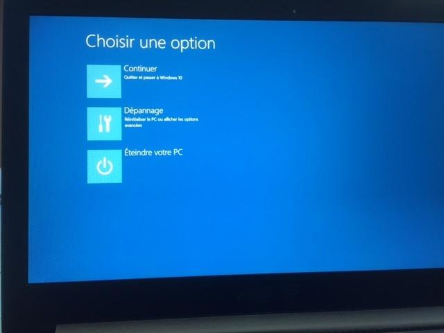 choix option