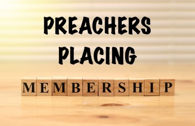 """Is the Preacher a Member of the Congregation? When do he and his family """"place membership""""? Do they do it like other people or do they get a special pass?"""
