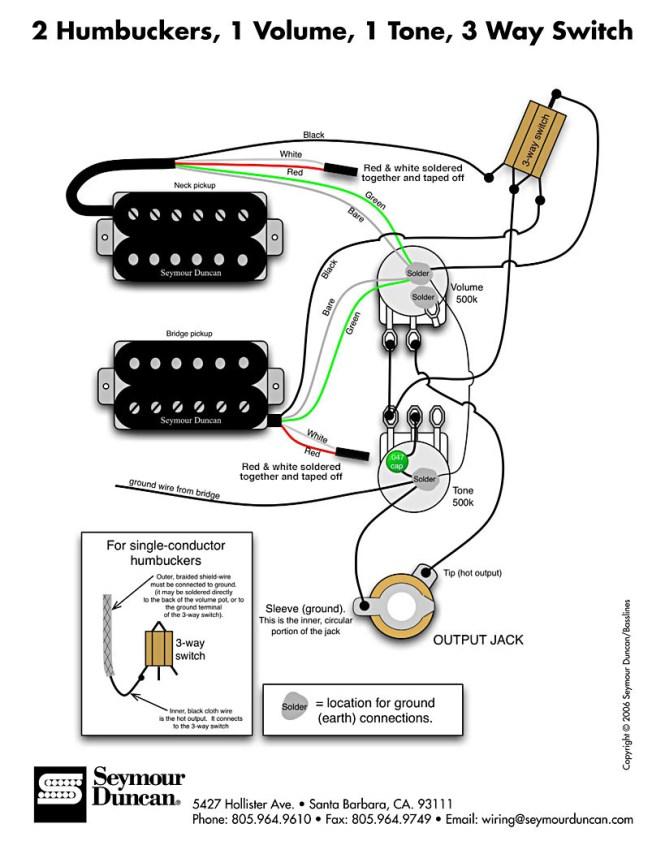 Les Paul Wiring Diagram Dimarzio - Wiring Diagram