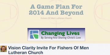 A presentation (opens in a new window) inviting people to a new taskforce to clarify our vision and develop a Ministry Action Plan (MAP) for the next 3-5 years. This 19 minute presentation by Jerry McNamara has audio narration and is self-advancing.