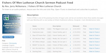 Click to see our podcast in iTunes!
