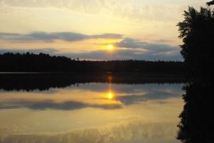 Sunrise over Grass Lake