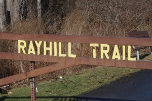 Gate at Rayhill Trail