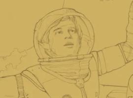 Space Cadet Sketch