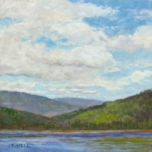 Labrador Pond - Oil Painting