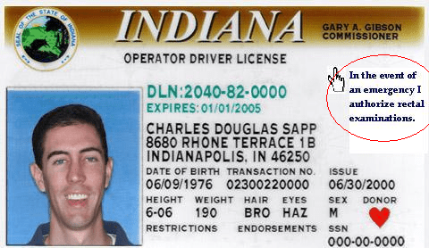 Indiana Drivers License Template  psd  renewing your georgia
