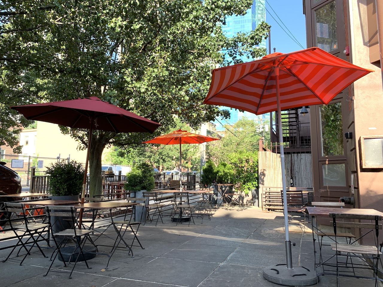 Jersey City Outdoor Dining Restaurants And Bars Upfront