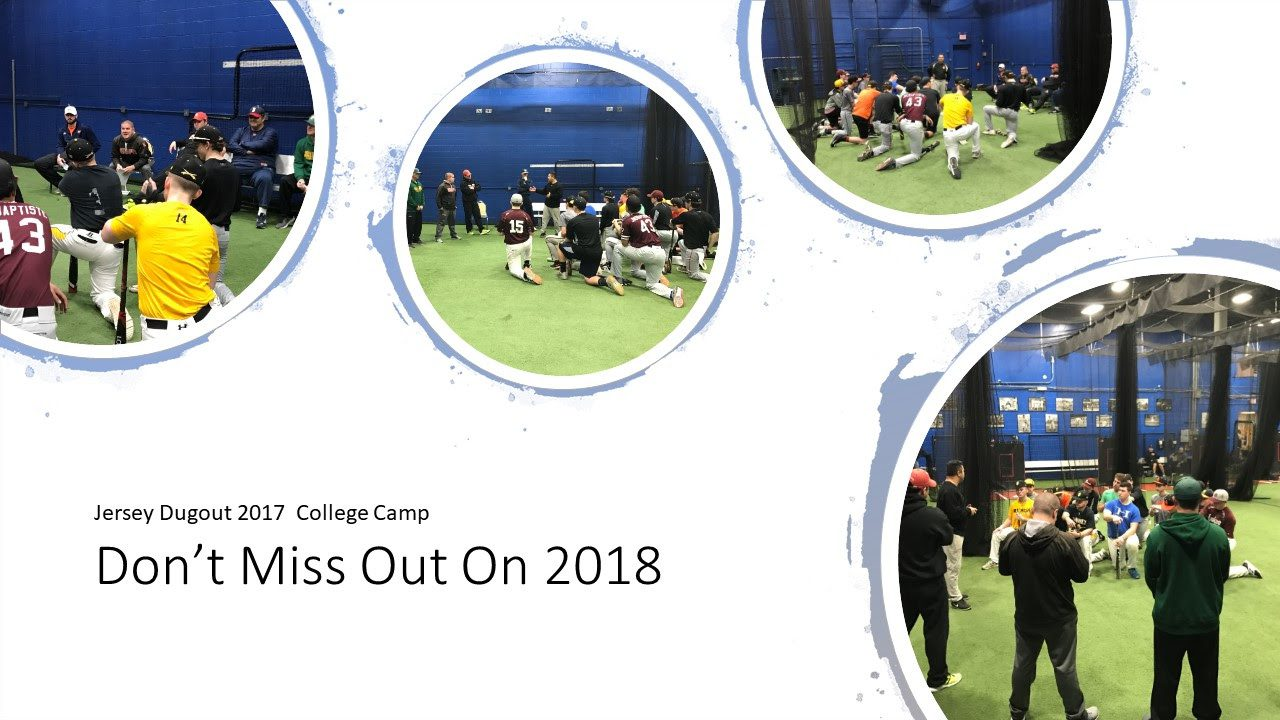 2018 Jersey Dugout College Camp