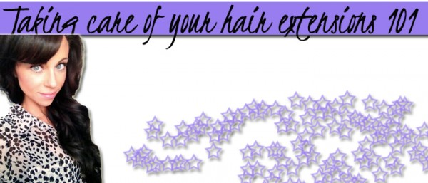 Tips on how to take care of your clip in human hair extensions taking care of your hair extensions 101 pmusecretfo Choice Image