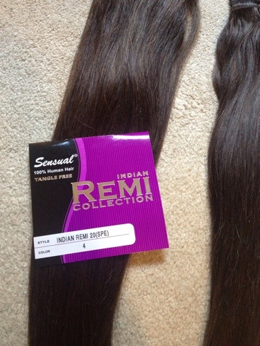 Diy how to make your own clip in human hair extensions step by step here we go pmusecretfo Images