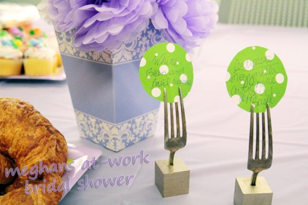 tips to throwing an office bridal shower