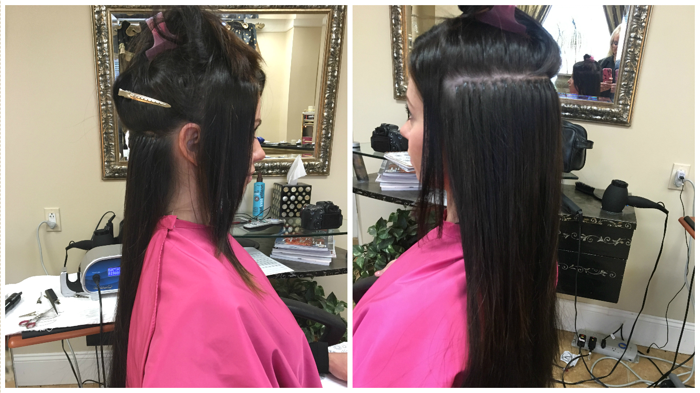 How to remove cold fusion hair extensions and final thoughts first i will start by saying that my hair extensions were applied by a professional and she did a fantastic job with placing them and making them look very solutioingenieria Images