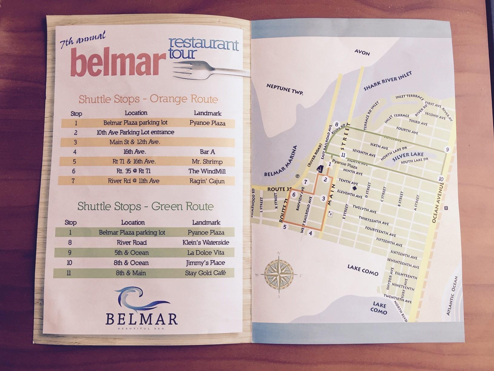 Belmar Restaurant Tour