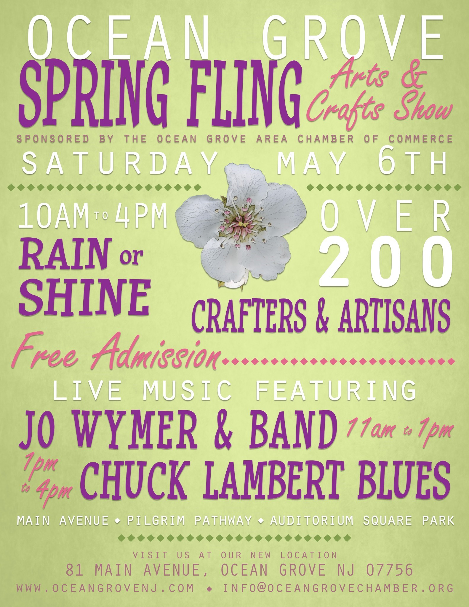Ocean Grove Spring Fling Arts and Crafts Show