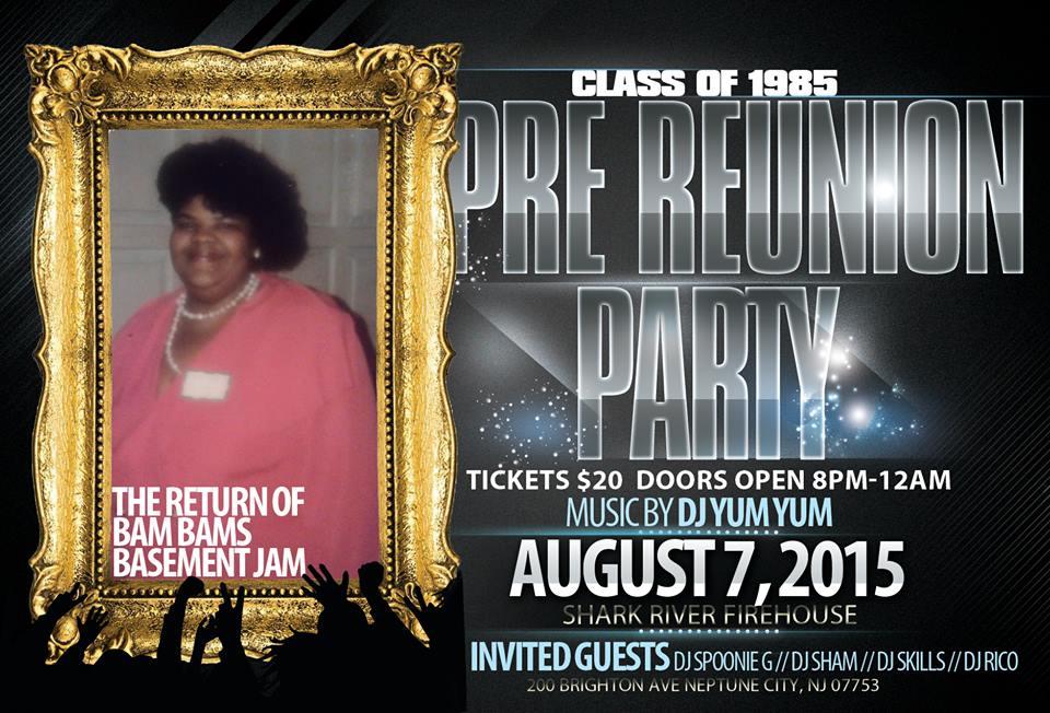 bam party Long Branch High School Pre 1985 Class Reunion