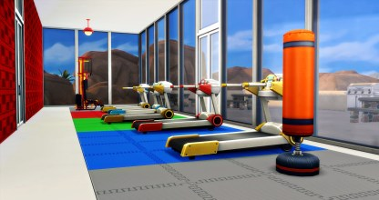 You will spend a lot of time in this state-of-the-art gym!