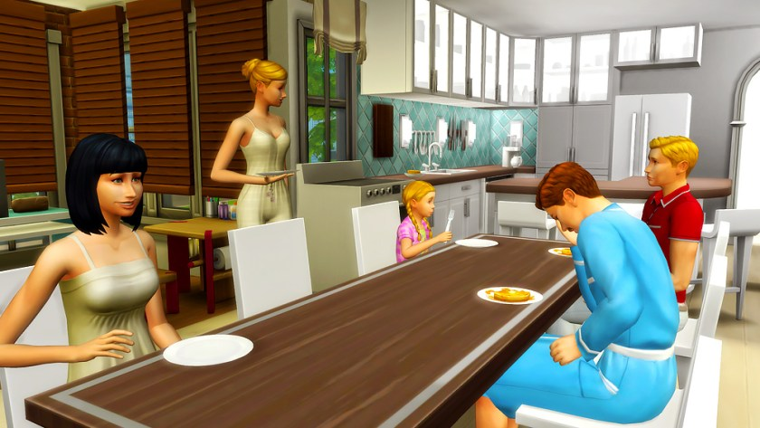 """""""Phoenix, are you done with your plate?"""""""