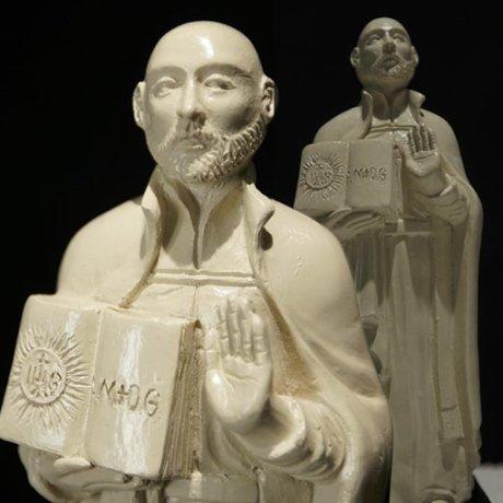 Standing St. Ignatius Statue