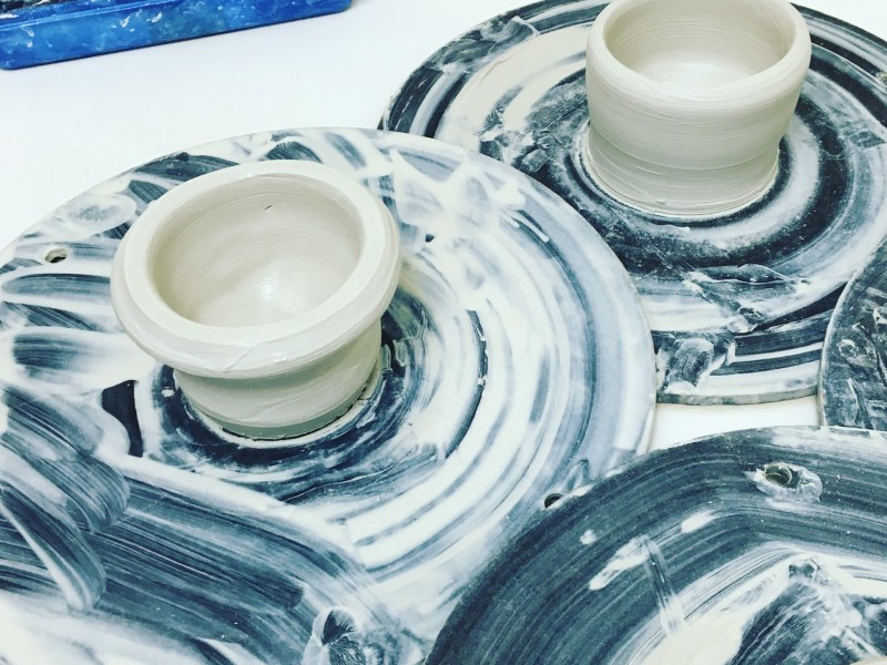 Pre-baked ceramics!