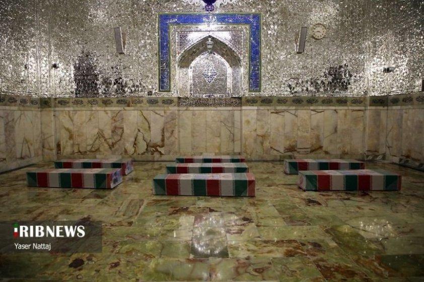 ايران - قتلوا بحلب قبل عدة أعوام ونقلت جثثهم اليوم إلى إيران