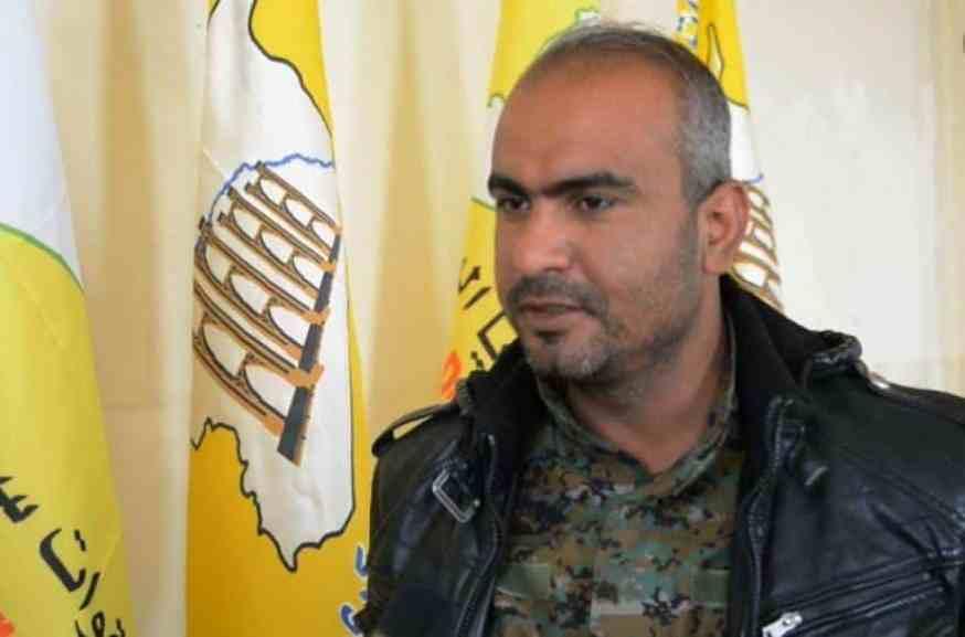 """الخبيل - القائد العسكري في قسد """"أحمد الخبيل"""": مستعدون لطرد إيران من المنطقة خلال 48 ساعة"""