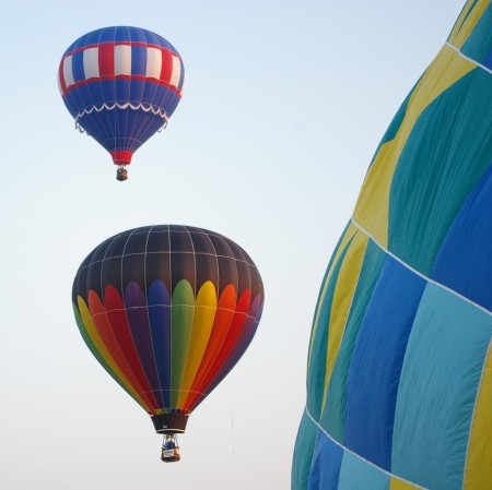 Balloons in Lake George