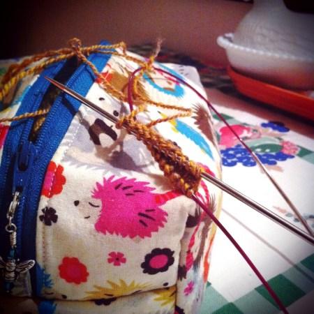 My KIP knitting