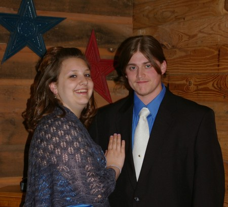 Prom 2008 - Dobby and WB