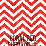 coral large chevron