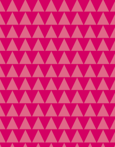 Pink trees pattern