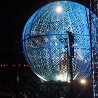 Daring stunts at Cirque Beserk