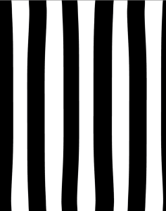 black & white messy stripes