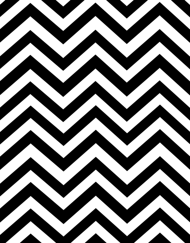 Black & White chevron paper