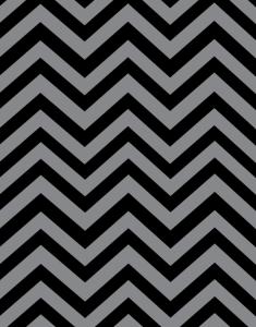 Black & Grey chevron paper