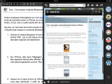 Blogsy : Navigateur intégré