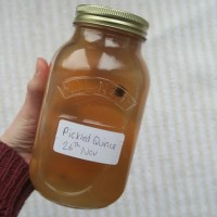 Learning with Larousse: Pickled Quince