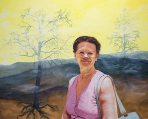 Irina, 2021, oil on canvas, 120 x 150 cm