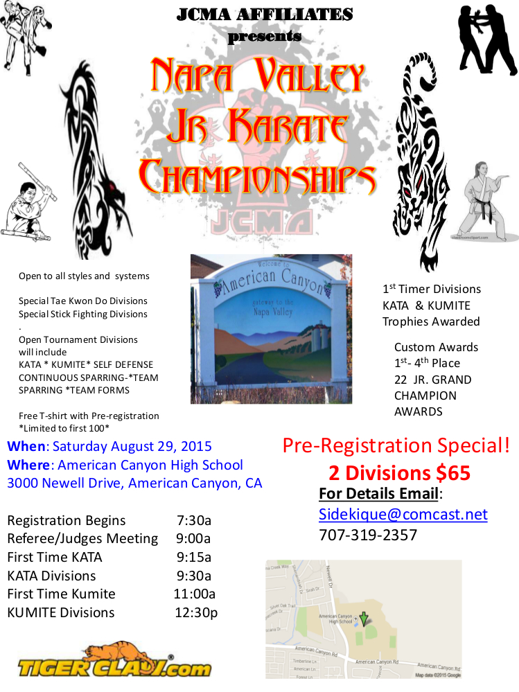 Napa Valley Classic Karate Championship!