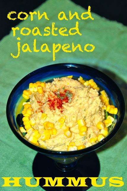 Corn and Roasted Jalapeno Hummus