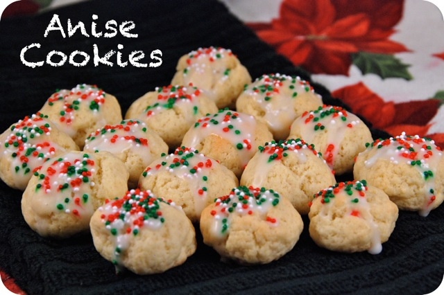 12 Days Of Christmas Cookies Anise Cookies