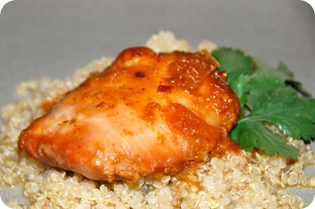 Crock Pot Apricot Chicken