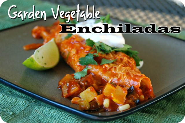 Garden Vegetable Enchiladas