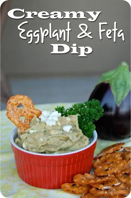 Creamy Eggplant & Feta Dip