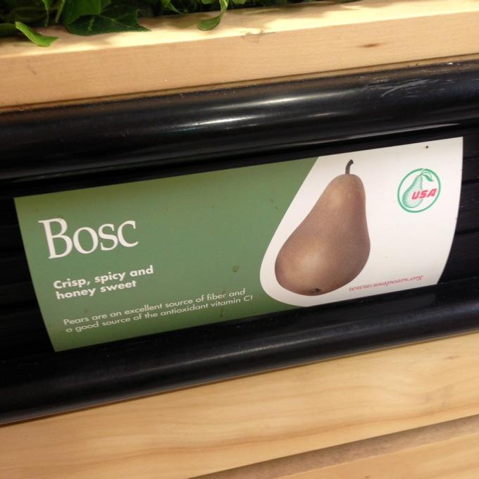 USA Pears Bosc Pears