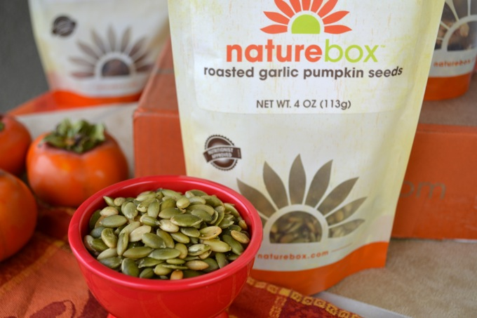NatureBox Roasted Garlic Pumpkin Seeds
