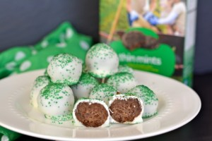 Girl Scout Cookie Thin Mint Truffles