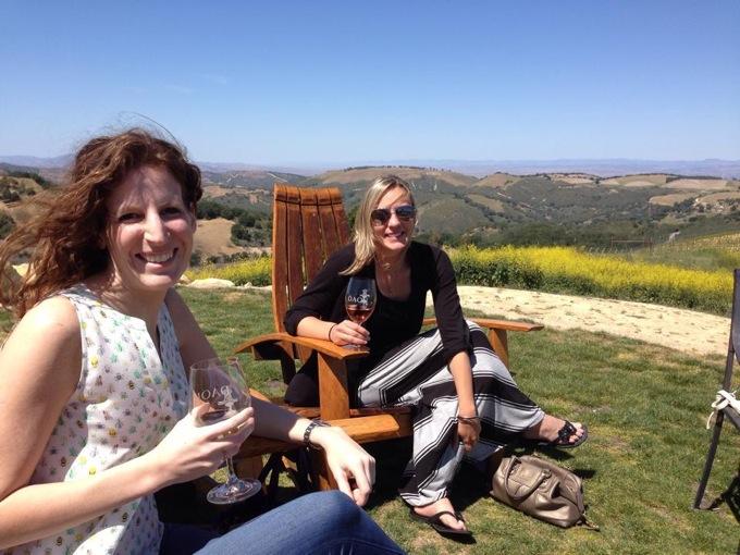 Wine tasting in Paso Robles, CA